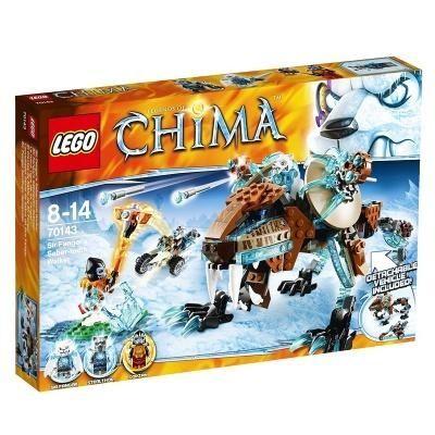 Конструктор Лего Lego CHIMA (70143) Саблезубая Машина Сэра Фангара