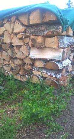 Drewno Kominkowe BRZOZA 200ZŁ metr
