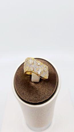 Złoty pierścionek próba 585 Rozmiar 15