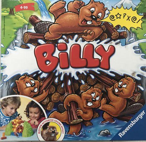 Gra zręcznościowa Billy - pracowity bóbr. Stan idealny. Kompletna