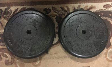 Obciażenie żeliwne 0d 0,5kg do 20kg lub DOMYOS !