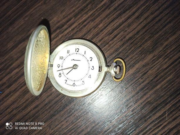 Карманные часы МОЛНИЯ для слепых