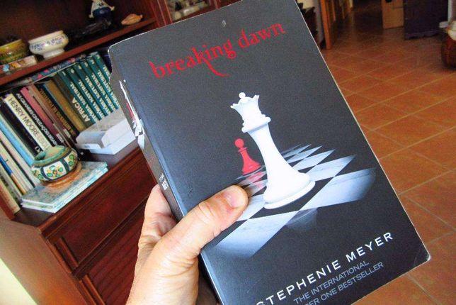 "BAIXA DE PREÇO Livro fantástico. ""Breaking dawn"""