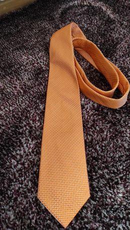 Krawat jedwabny Hugo Boss
