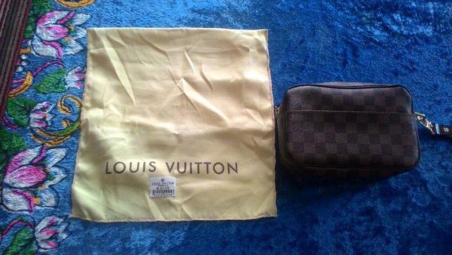 Барсетка мужская Louis Vuitton Damier Ebene Canvas Macao Clutch