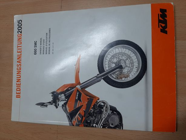 Manual utilizador - KTM 660 SMC