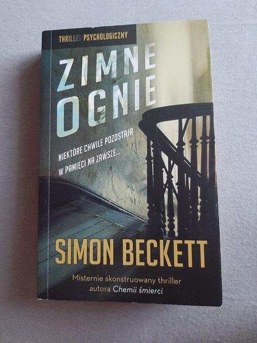 Zimne ognie Simon Beckett Olsztyn - image 1