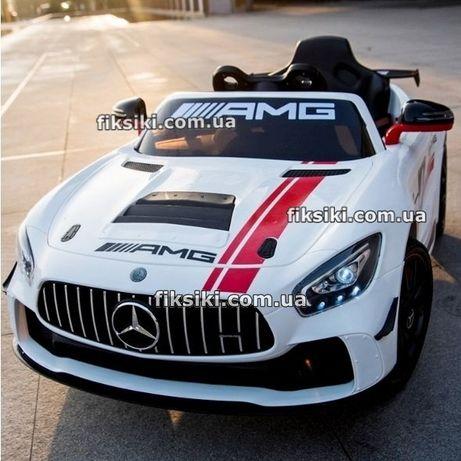 Детский электромобиль Mercedes M 4105 белая Дитячий електромобiль
