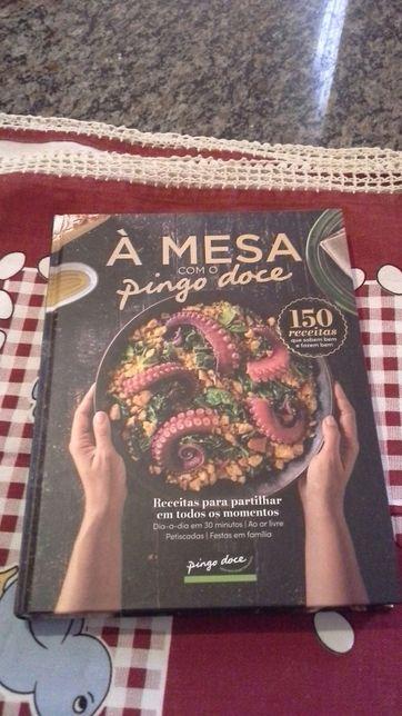 Livro receitas Pingo Doce