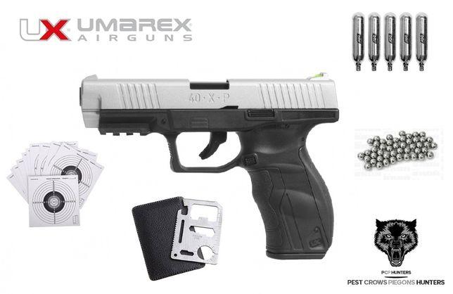 169 07 Pistolet wiatrówka Umarex 40.X.P blowback 4,5 mm BB CO2