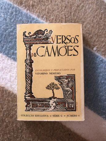 Versos de Camões | 2a edição | Vitorino Nemesio (portes gratis)