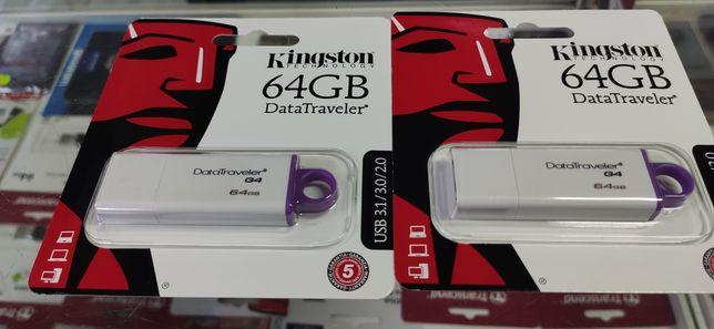 USB Flash 64Gb KINGSTON DataTraveler IGen4 USB3.0 (DTIG4/64GB), опт