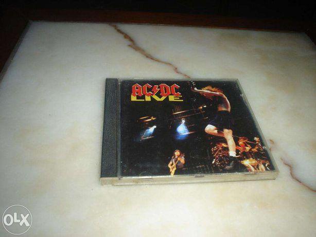 Cd dos AC/DC Live