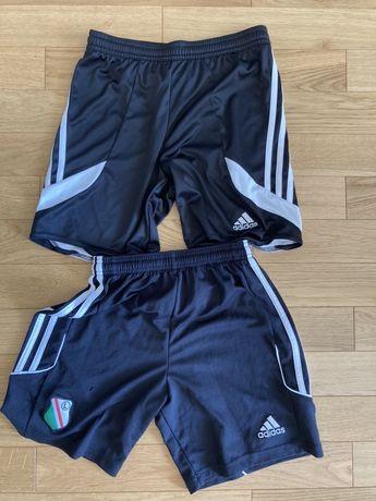 Adidas dziecięce krótkie spodenki piłkarskie/treningowe roz.140 i 152