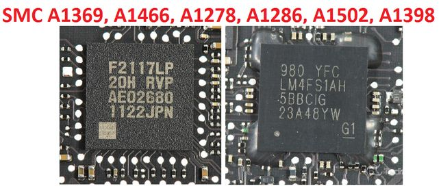 Чип SMC F2117LP LM4FS1AH MacBook A1369, A1466, A1278, A1286, A1502