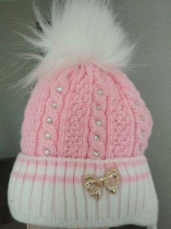 Дитяча зимова шапочка