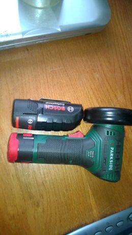 різачок з акумулятором-зарядкою та додатковим кругом-різачком. торг