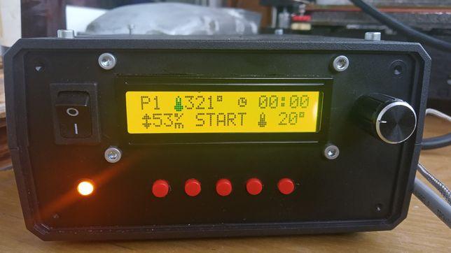 Терморегулятор , термоконтроллер муфельної печі .