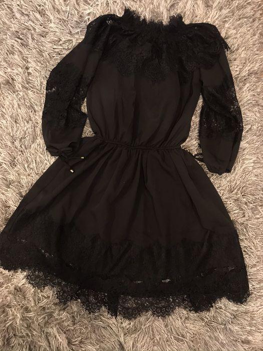 Czarna sukienka rozm. 36 Łuków - image 1
