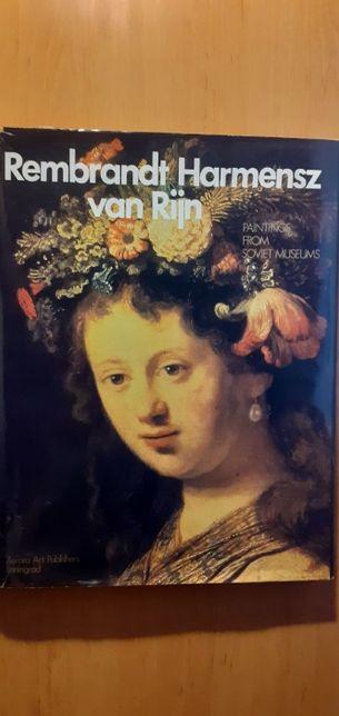 Rembrandt Harmenesz van Rijn ( wydanie w języku angielskim)