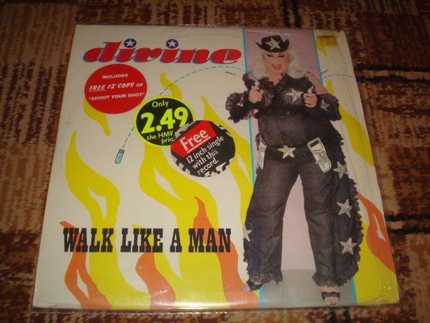 Płyty winylowe Divine-Walk Like A Man&Man Tald 2 lp Maxi