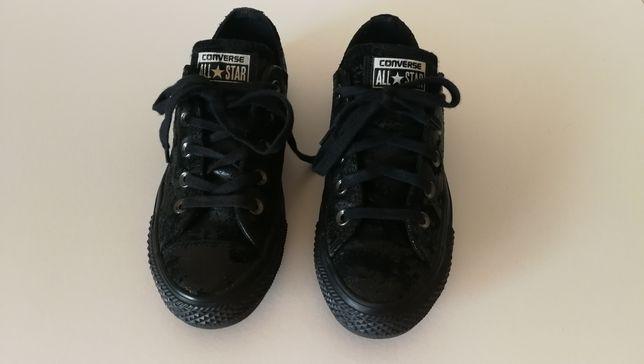 Novo Converse 36 preto estilo grunge all star Raro ténis sapatilhas