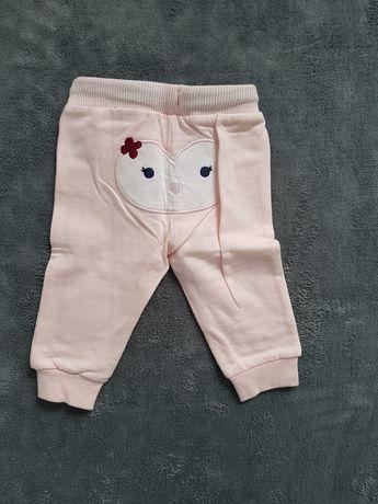 Nowe spodnie 2 pary rozm 68 i 74