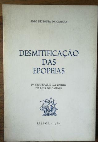 desmitificação das epopeias, joão de sousa da camara, 1980