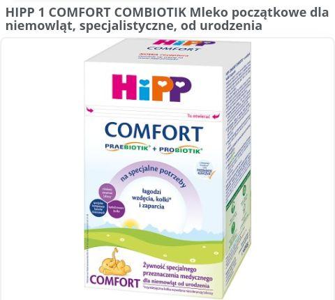 -600 г Hipp COMFORT суміш смесь хипп Польша Європа