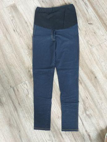 Legginsy ciążowe materiałowe a'la jeans