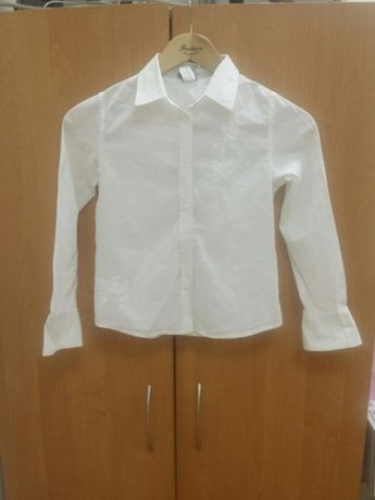 Блузка для девочки школьная р.134