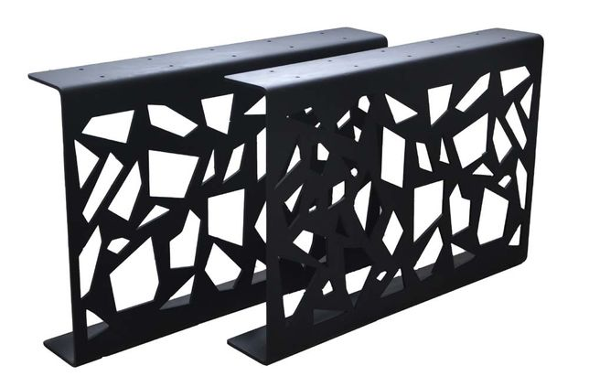 Noga podpora ABSTRAKCJA metalowa do stolika wypalana laserowo