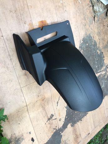 Хагер на DL650 V Strom. Новый оригинальный брызговик