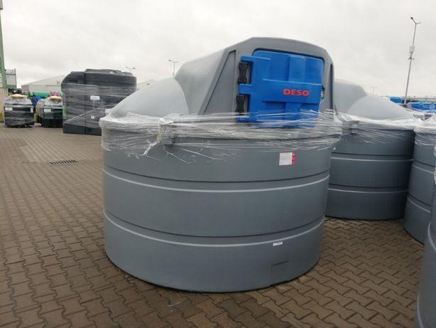 Zbiornik dwupłaszczowy do paliwa ON 5000l DESO / NOWOŚĆ