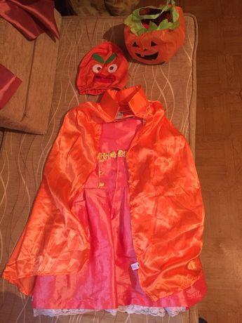 Карнавальный костюм Тыква,Тыквочка на Хеллоуин от 9-13 лет.