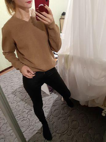 Теплющий шерстяной свитер,джемпер оверсайз