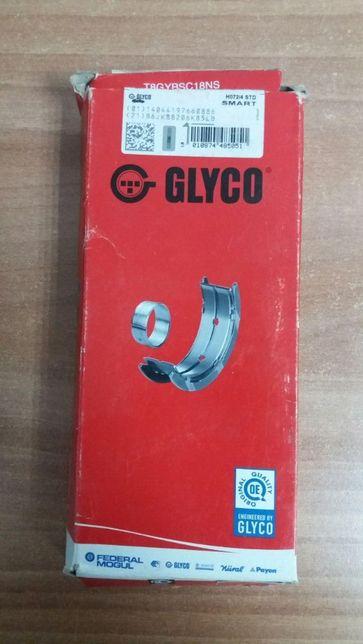 Вкладыши коренные (новые) GLYCO H072/4 STD (Smart)