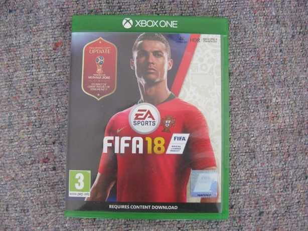 Jogos Xbox One - FIFA18 e Rugby World Cup 2015