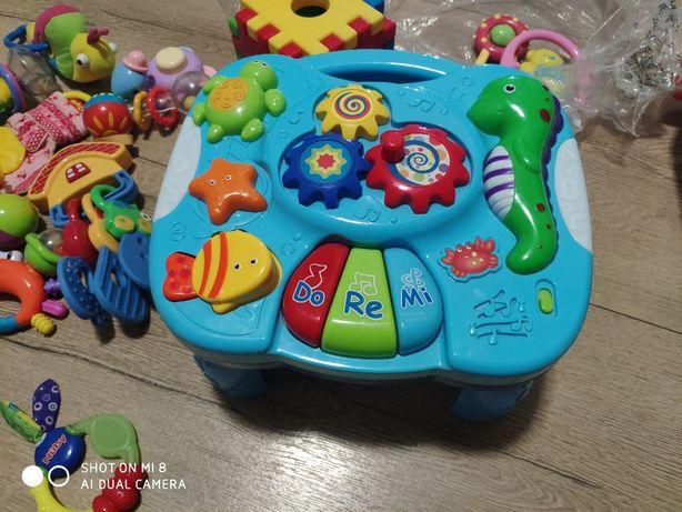 интерактивный столик пианино музыкальный Bebelino игровой