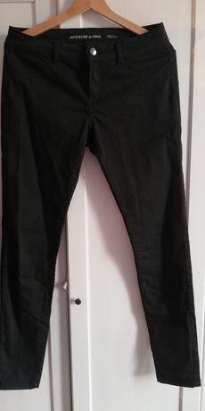Spodnie jeansy Jacqueline czarne roz. 38 M elastyczne