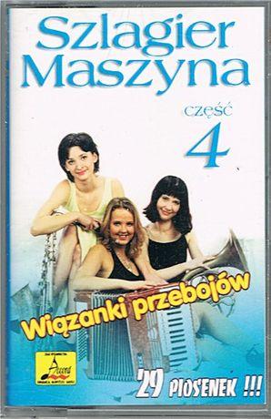 SZLAGIER MASZYNA Wiązanki przebojów część 4 - kaseta audio - Accord