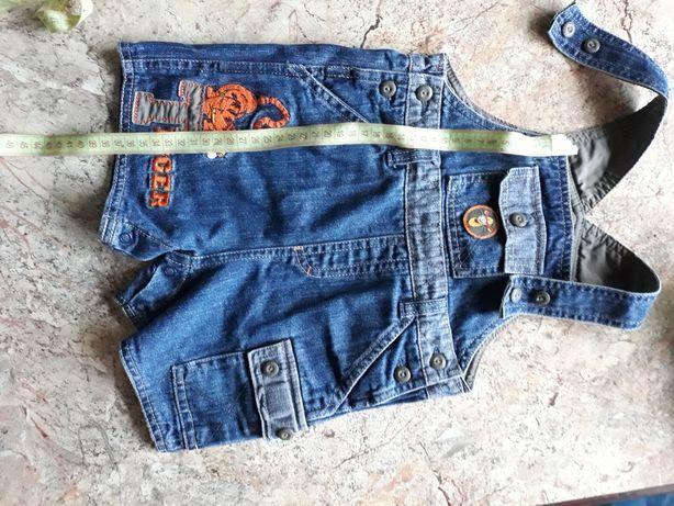 Комбинезон полукомбинезон джинсовка