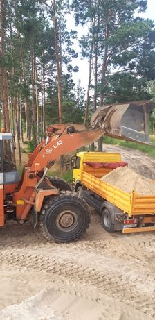 Żwir siany i płukany ,piasek,transport wywrotką Nakło okolice