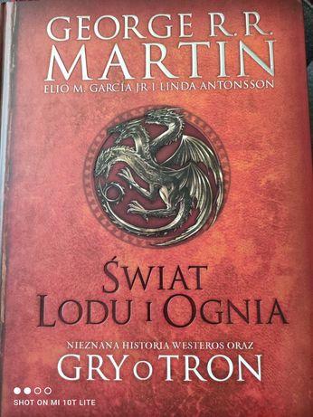 Książka ilustrowana gry o tron