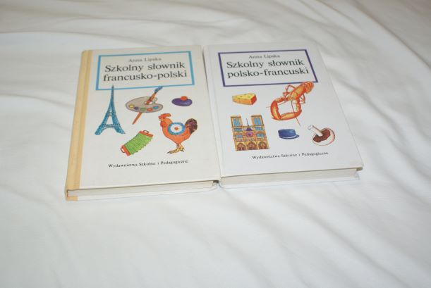 Szkolny słownik francusko polski i polsko francuski Anna Lipska