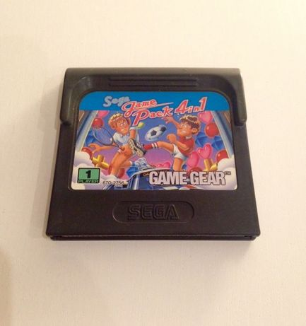 Jogo Game Gear Sega Game Pack 4 in 1