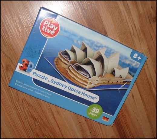 Puzzle 3D Sydney Opera House /39 elementów