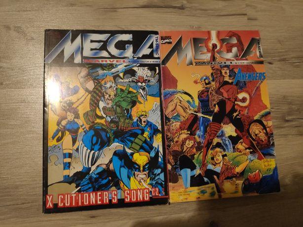 Mega Marvel 2 zeszyty z 1996