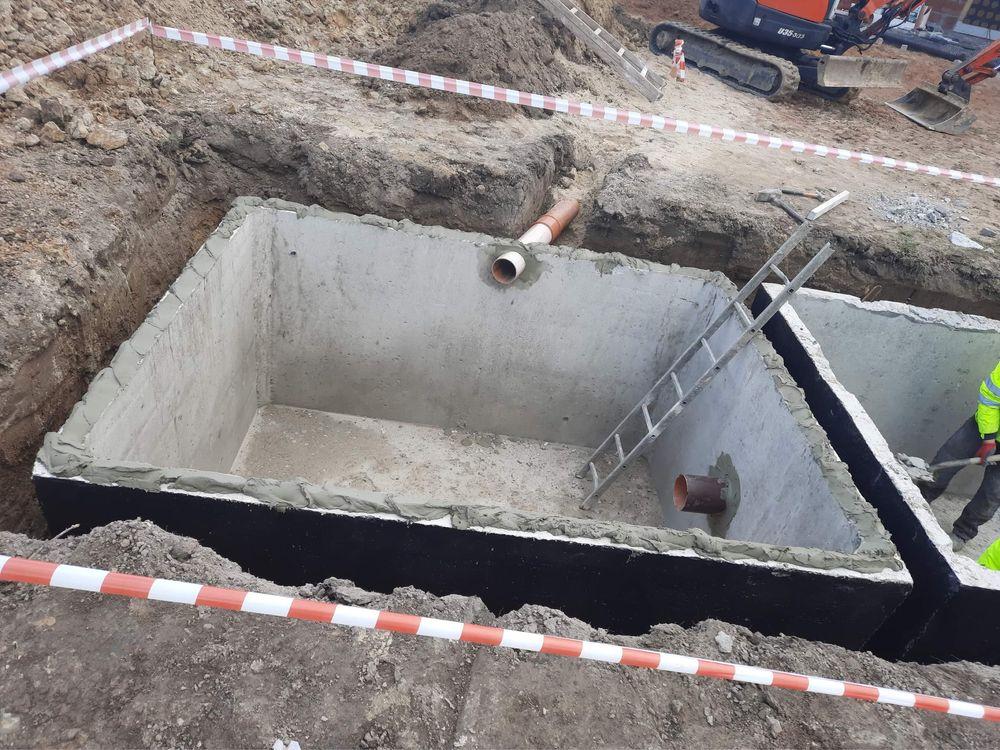 Szamba Szambo betonowe szczelne zbiorniki na wodę Łódź Konin Pabianice