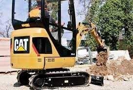 wypożyczalnia maszyn budowlanych joker minikoparka caterpillar jcb cat